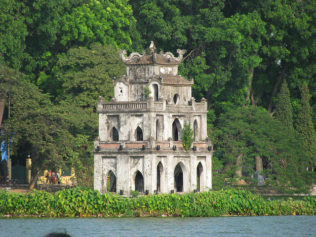 TURTLE TOWER TRAVELHANOI