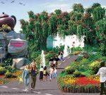 Bao Son Paradise green as its name