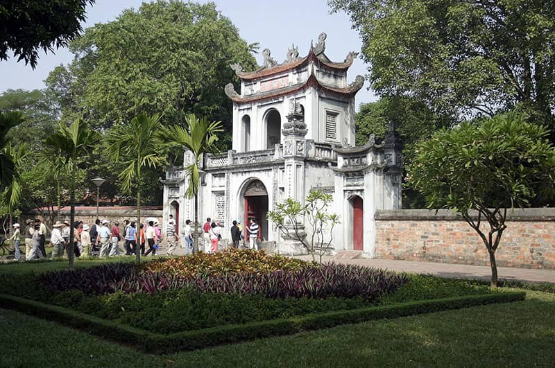 Temple of Literature - Main Gate