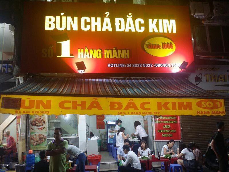 Bun Cha Hang Manh - Bun Cha Dac Kim Hanoi
