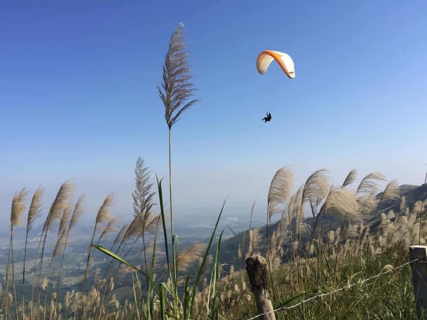 paragliding in Hanoi