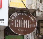 egg coffee hanoi at giang cafe