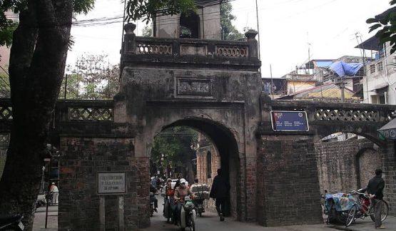 old city gate hanoi
