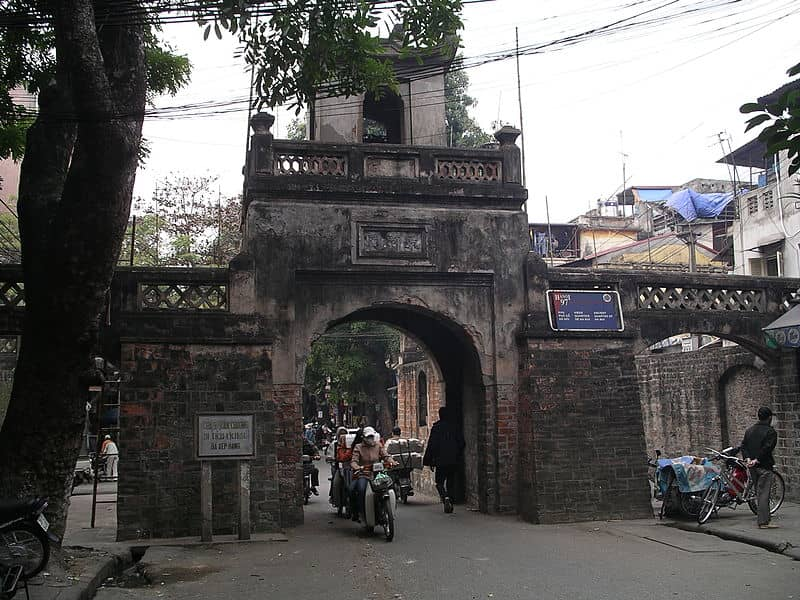 old city gate hanoi