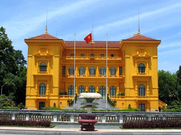 President palace Hanoi