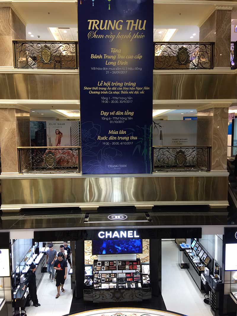 trang tien plaza shopping mall